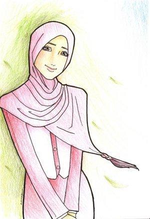 Contoh Gambar Wanita Hijab Ideku Unik