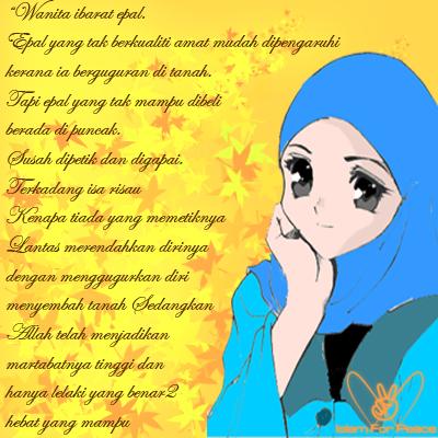 Hanela_de_ally : Kartun Muslimah